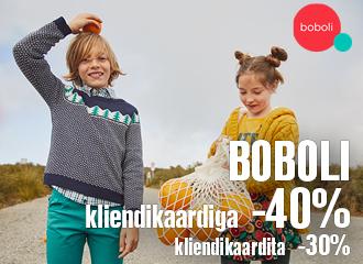 BOBOLI HOOAJA ALLAHINDLUS kuni -40%